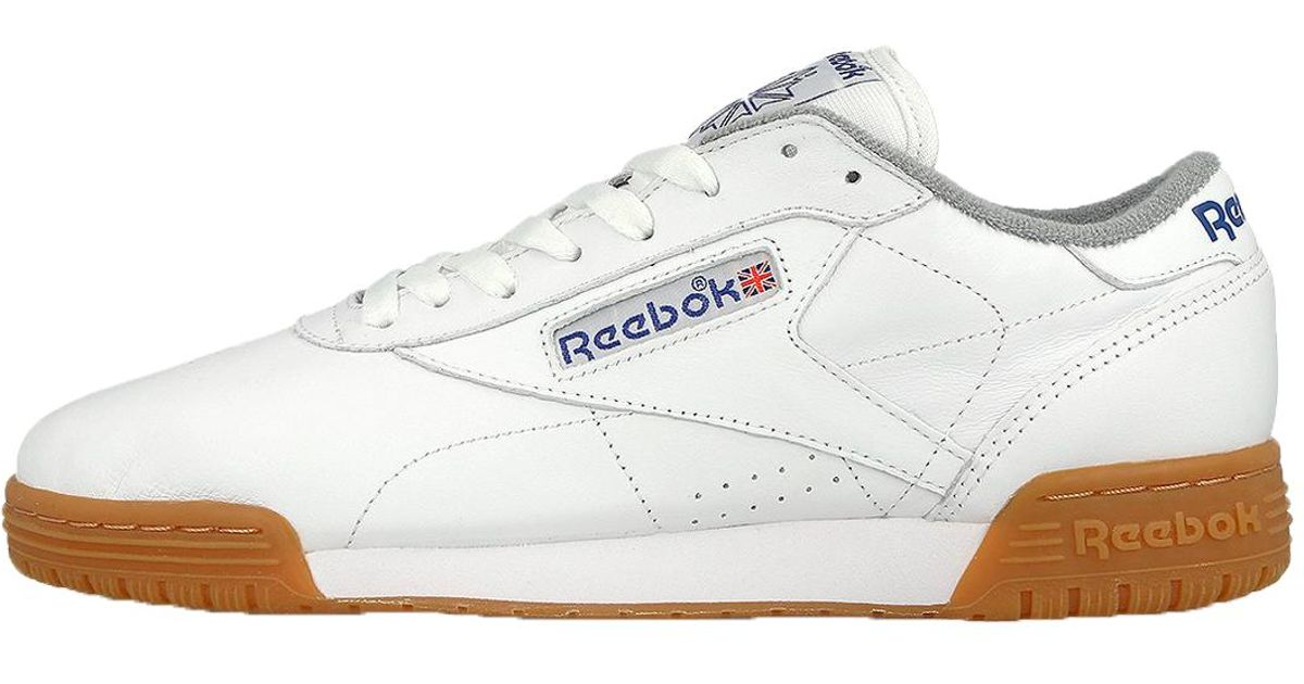 5071aad97cf Lyst - Reebok Exofit Lo Clean Logo R12 Int in White for Men