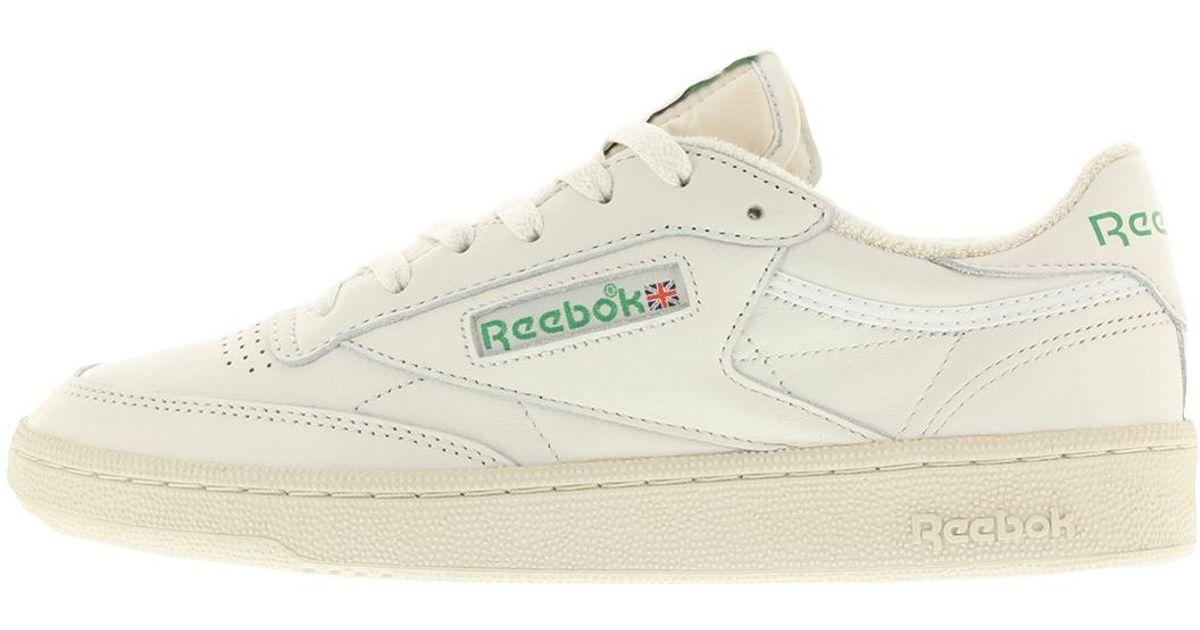 Luxus-Ästhetik neueste auswahl neues Erscheinungsbild Reebok White Club C85 Vintage for men