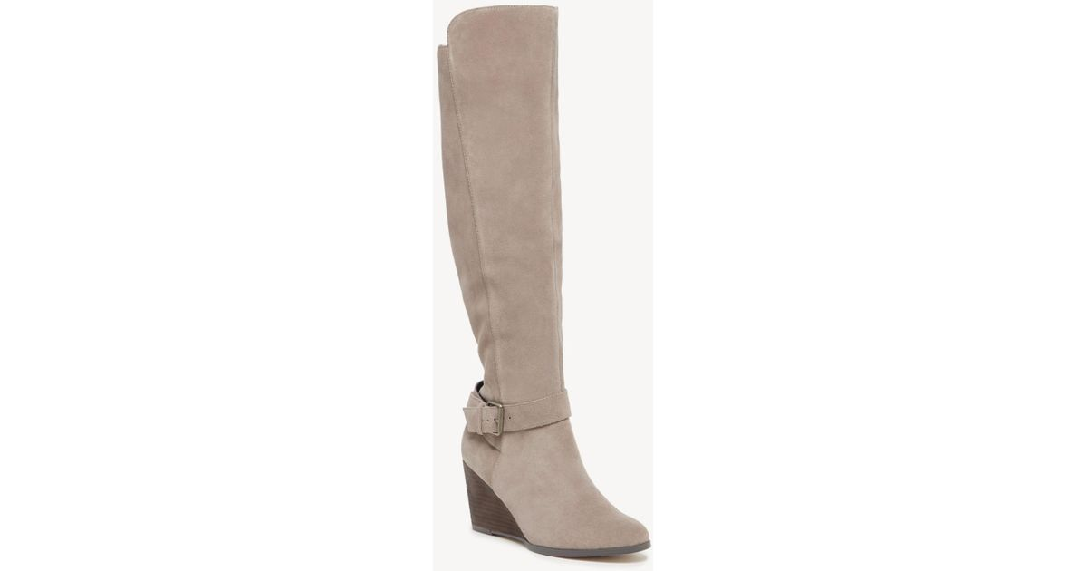 6456a557da9 Lyst - Sole Society Paloma Wedge Boot in Brown