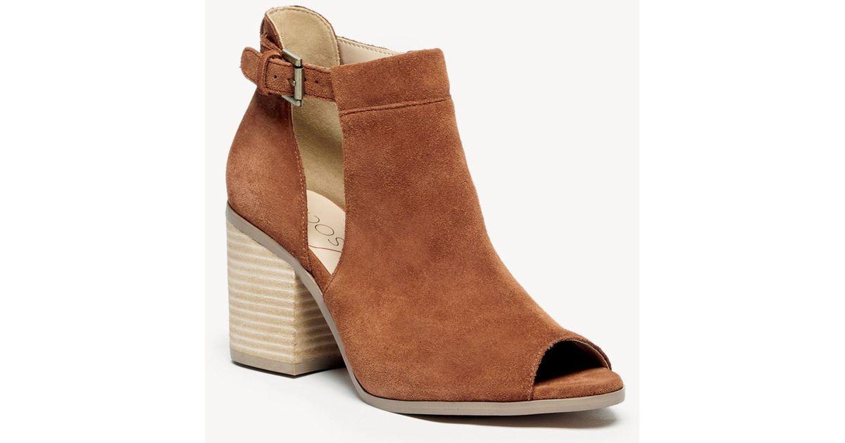441ff19fdb0 Lyst - Sole Society Ferris Block Heel Sandal in Brown