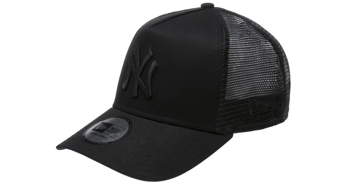 f5f04be315e ... canada ktz new york yankees trucker cap in black for men lyst 821fd  31ce0