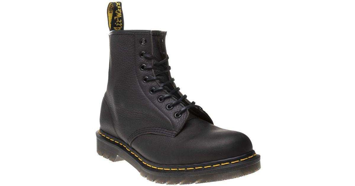 227fcd70348 Dr. Martens 1460 Abandon Boots in Black for Men - Lyst