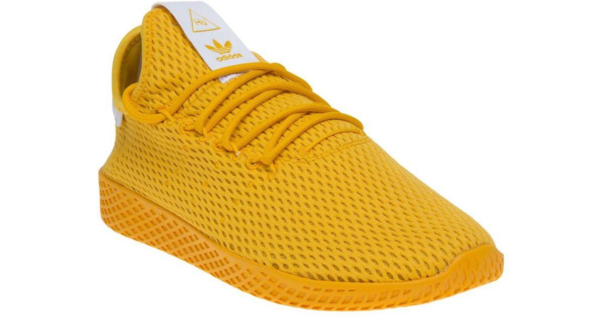 664ee43108 Adidas Pharrell Williams Tennis Hu Trainers for Men - Lyst