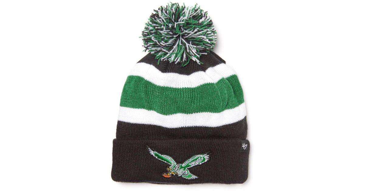 Lyst - South Moon Under Philadelphia Eagles Breakaway Cuff Knit Hat in  Green for Men 466182e4c