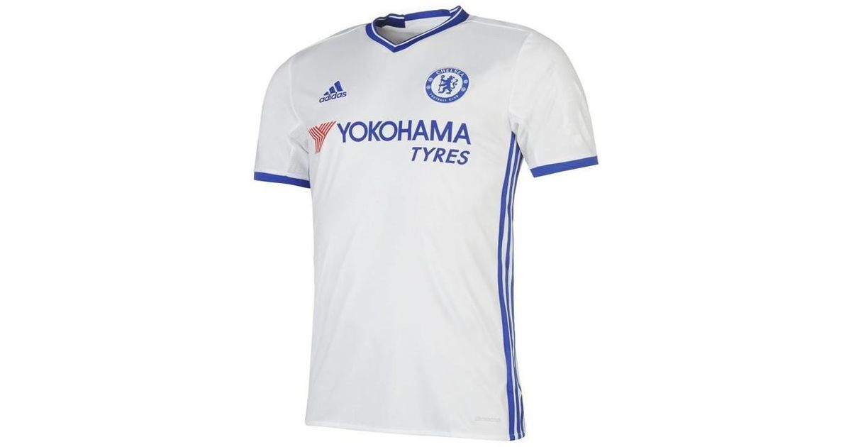 wholesale dealer 99511 5c2aa Adidas - 2016-17 Chelsea 3rd Shirt (batshuayi 23) - Kids Women's T Shirt In  White - Lyst
