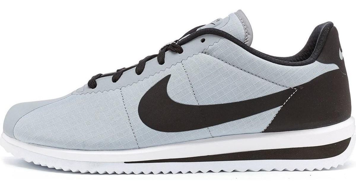 buy popular 6b5ef 36bb6 Nike Gray Cortez Ultra Raiders Trainers In Wolf Grey Black 833142 004 Men's  Shoes (trainers) In Grey for men