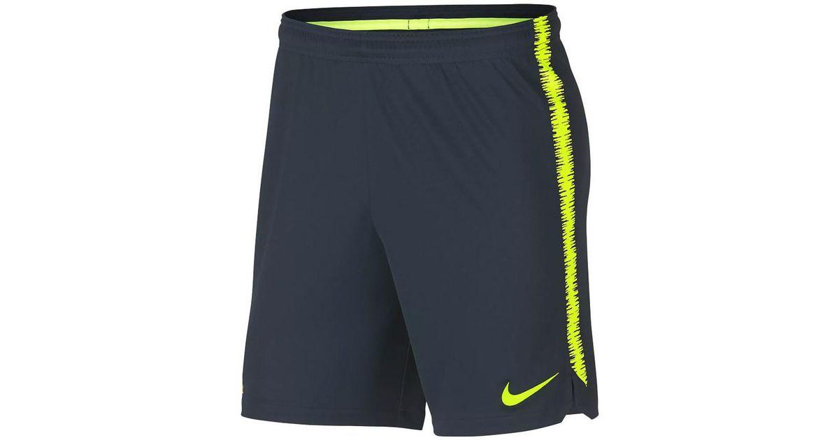 eea8b2e5638 Nike 2018-2019 Brazil Dry Squad Training Shorts (armory) - Kids Men's  Shorts In Blue for men