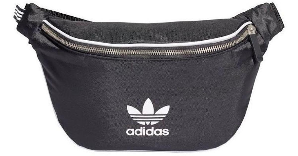 adidas Trefoil Waistbag Women s Hip Bag In Black in Black for Men - Lyst 407dfbeaec3cb
