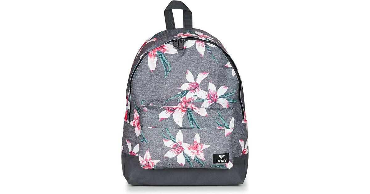874aa03b1c Roxy Sugar Baby Women's Backpack In Grey in Gray for Men - Lyst