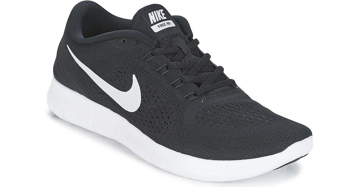 Nike Free Run Men S Running Trainers In Black For Men Lyst