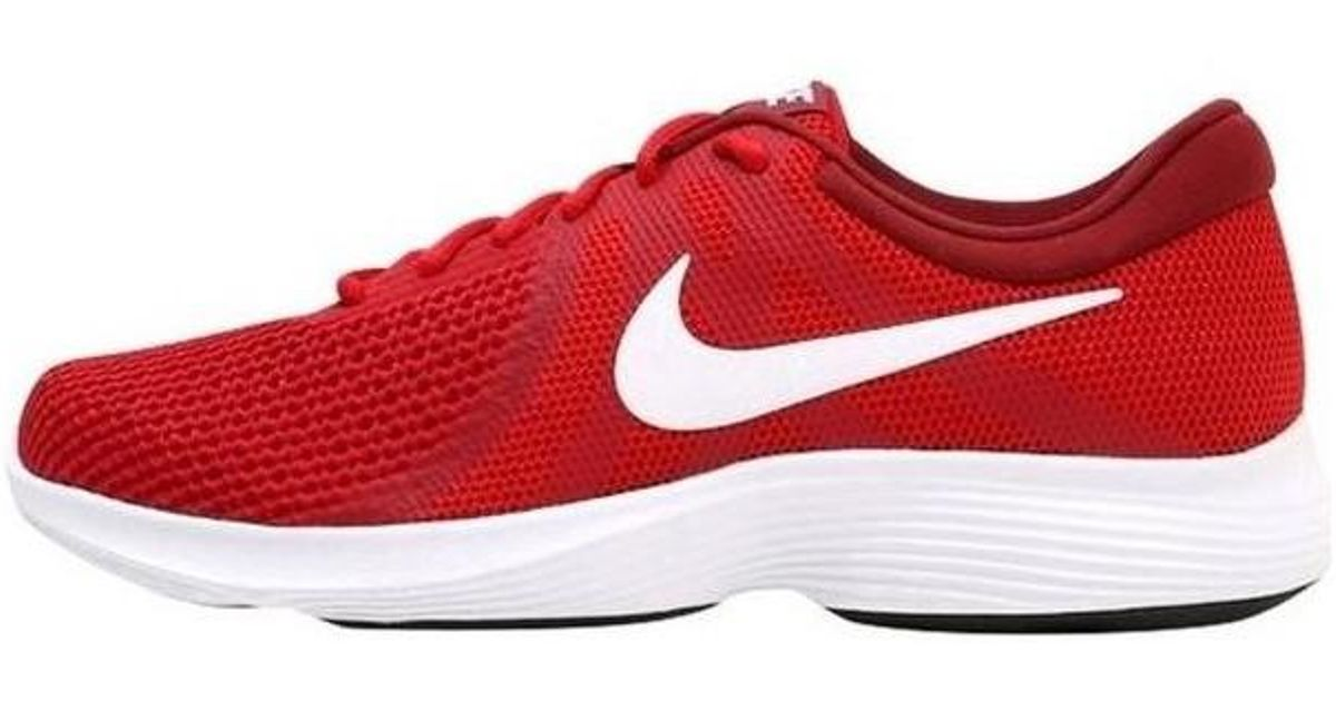 4f0d5ee0dddba Nike Revolution 4 Men s Shoes (trainers) In Red in Red for Men - Lyst