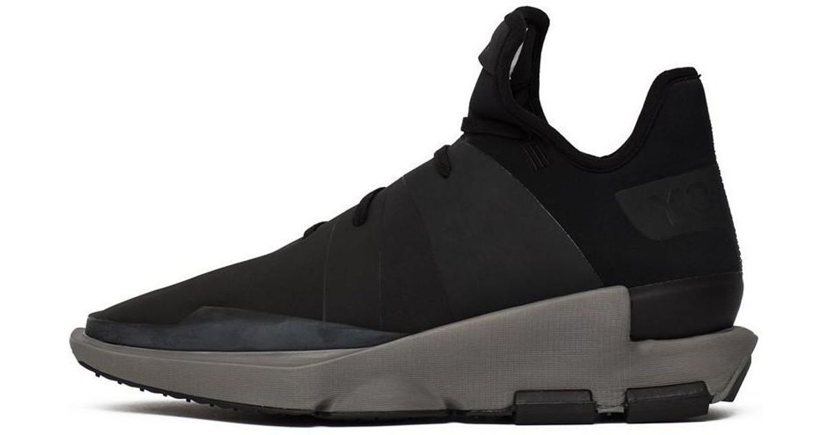 ec6678e8f70c adidas Y3 Noci Low Men s Shoes (high-top Trainers) In Black in Black for Men  - Lyst