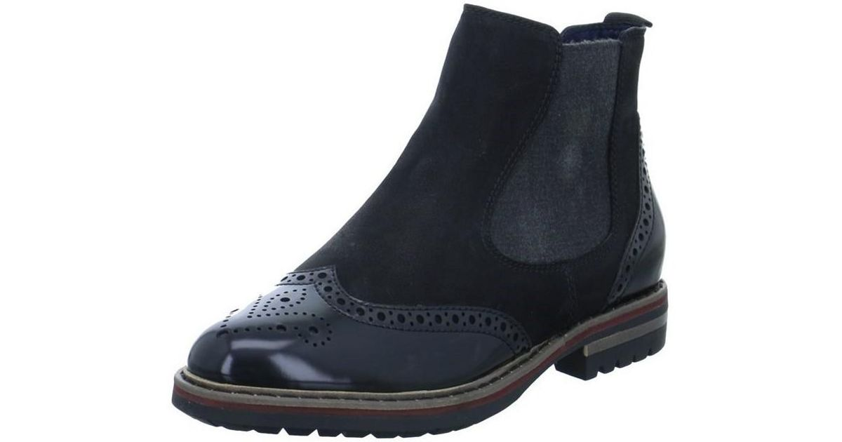 lowest price cb62d 23724 Tamaris Jenna Women's Low Ankle Boots In Black