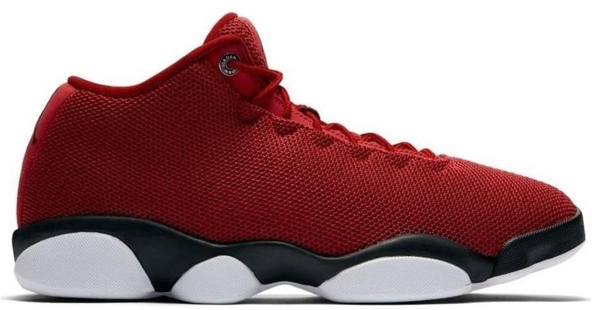 48df68b3bbf2 Nike Air Jordan Horizon Low Men s Shoes (high-top Trainers) In Red in Red  for Men - Lyst