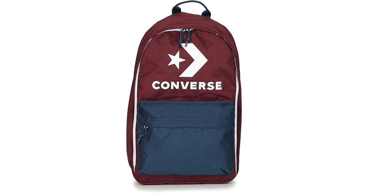 a6f303c503 Converse Edc 22 Backpack in Red for Men - Lyst