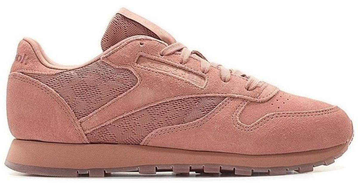 Reebok Classic Leather Lace Sandy Rose Women s In Pink in Pink for Men -  Save 26.506024096385545% - Lyst 2ae60fcf8c