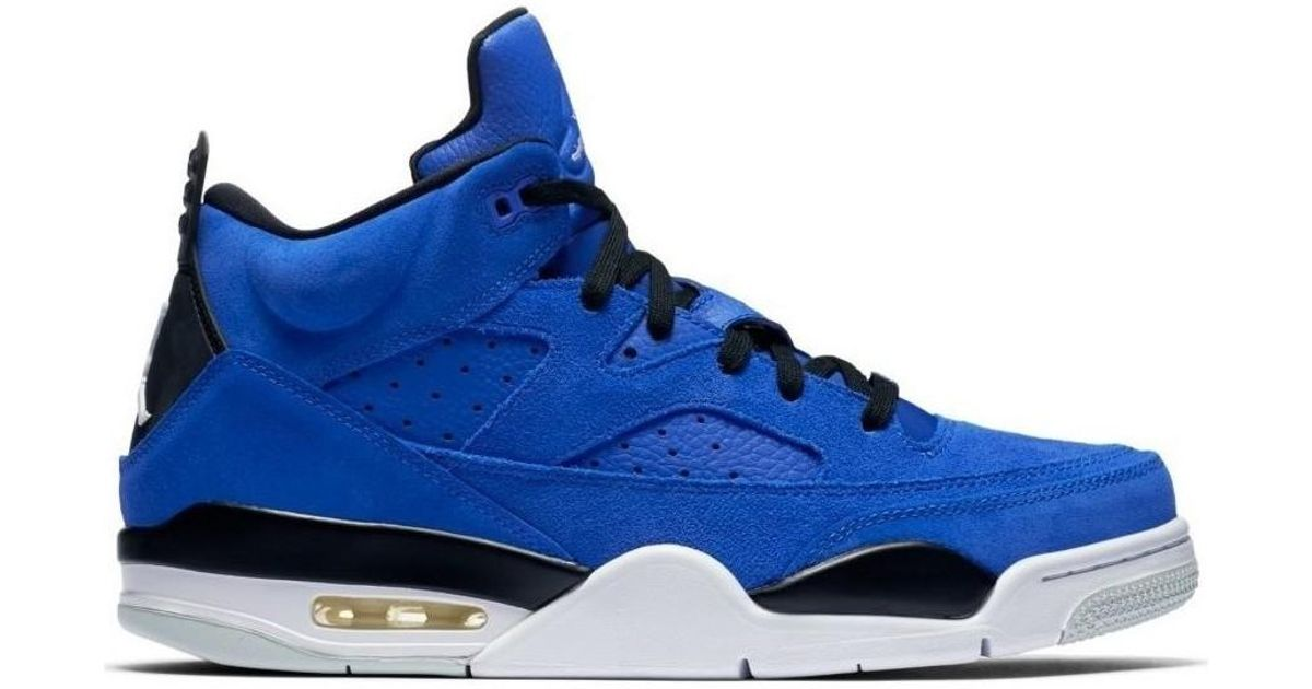 new product 71e61 bc8a4 Nike Air Jordan Son Of Mars Men s Shoes (high-top Trainers) In Blue in Blue  for Men - Lyst
