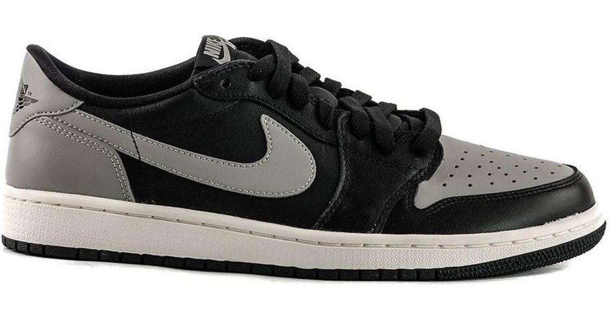 online store ee9f5 df145 Nike Air Jordan 1 Retro Low Og Shadow Men s Shoes (trainers) In Multicolour  in Black for Men - Lyst