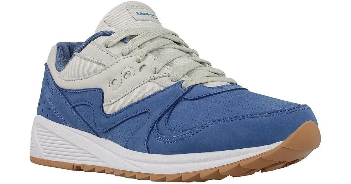 eb963f15f776 Saucony Grid 8000 Blult Men s Shoes (trainers) In Blue in Blue for Men -  Lyst