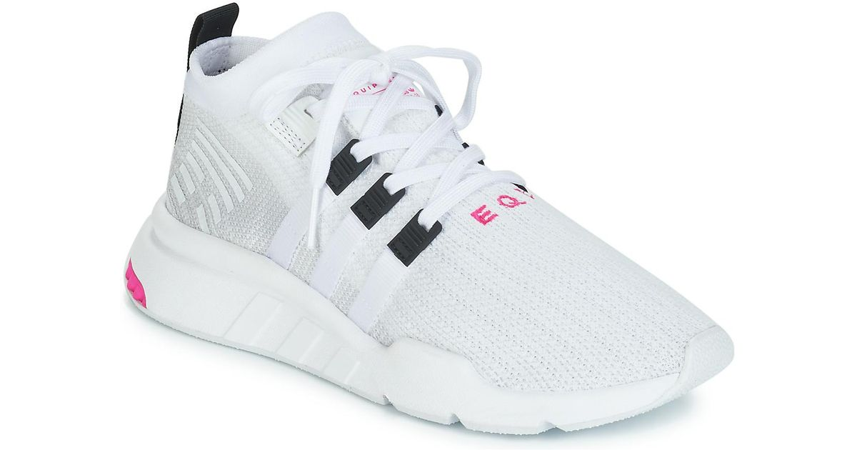 new styles b39e7 8a211 Adidas Eqt Support Mid Adv Men's Shoes (trainers) In White for men