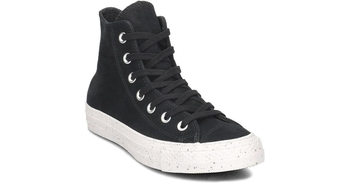 a71d8b1cb4e5 Converse Chuck Taylor All Star Hi Unisex Men s Shoes (high-top Trainers) In  Black in Black for Men - Lyst