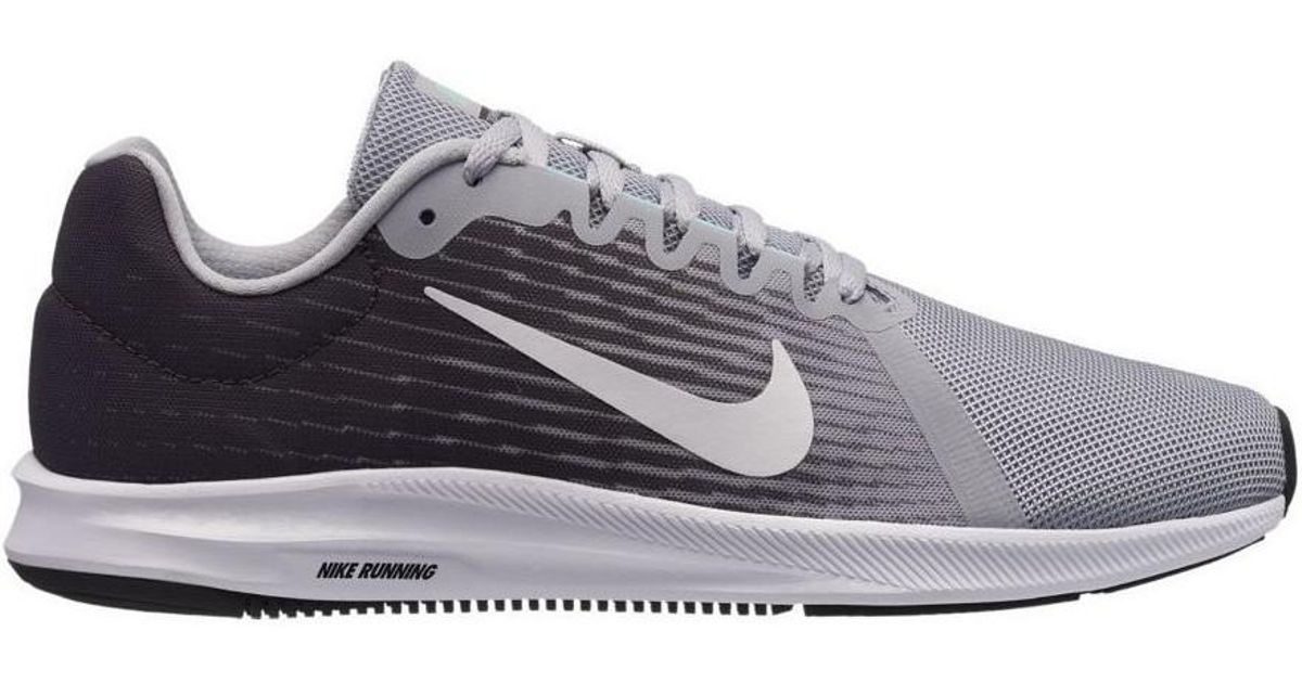Nike Downshifter 8 Men s Running Trainers In Grey in Gray for Men - Lyst 7b99ebcf9