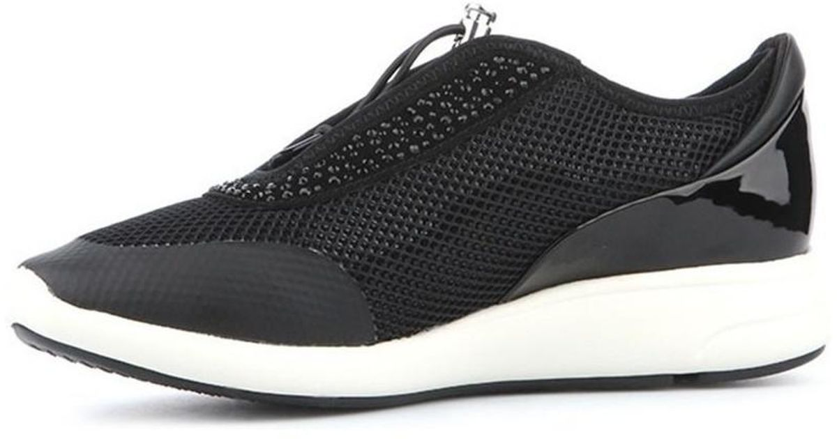 Geox D Ophira E Women s Shoes (trainers) In Black in Black - Lyst 5365ada34c3