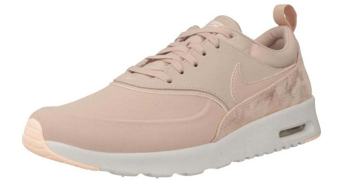 online store a few days away hot sales Nike Air Max Thea Prm Women's Shoes (trainers) In Pink
