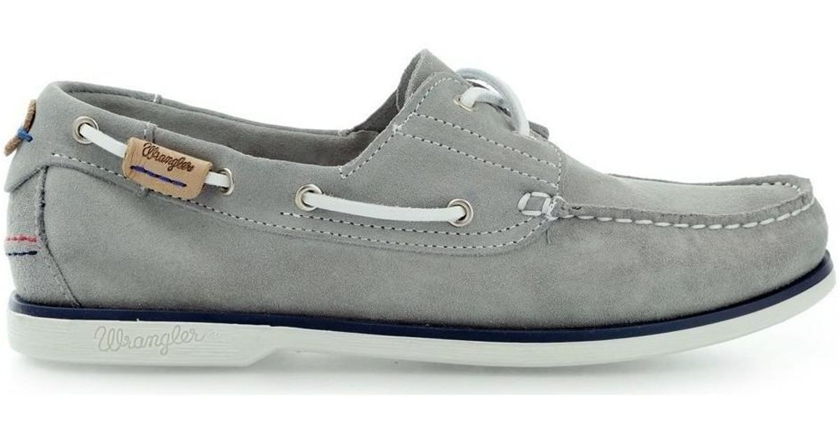 a82ae9130bb Wrangler Ocean Wm161111 Men s Loafers   Casual Shoes In Grey in Gray for Men  - Lyst