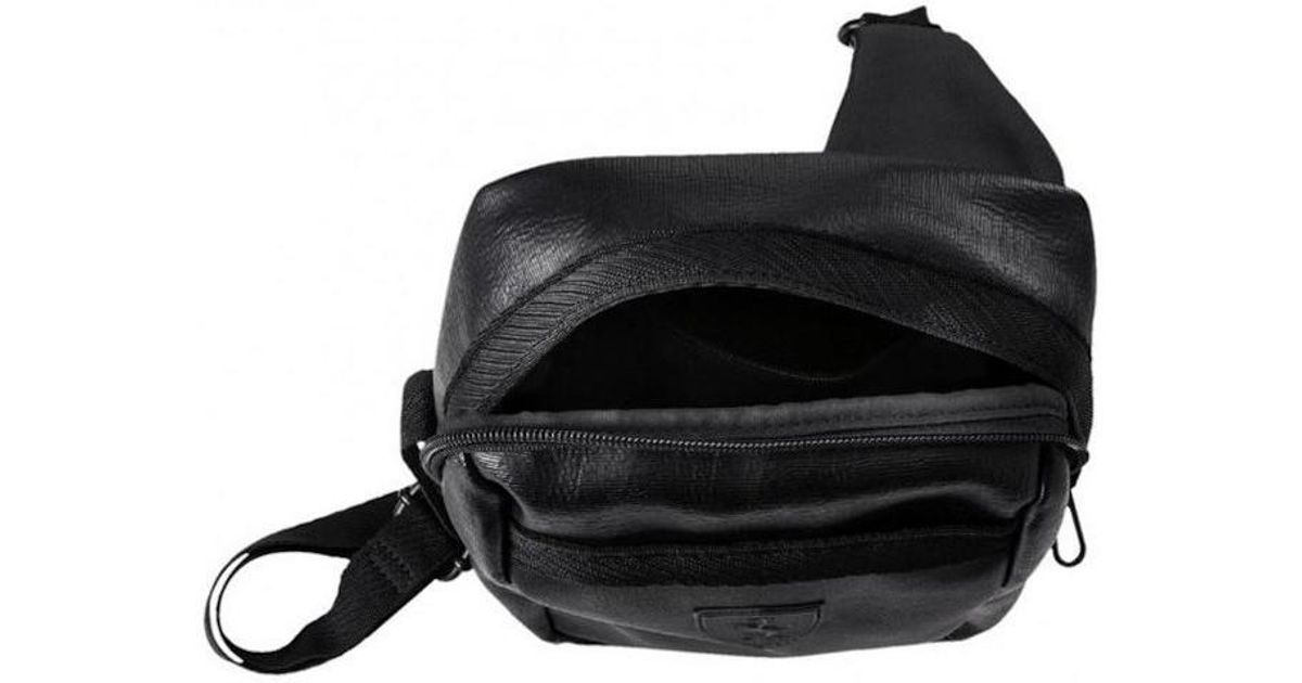 fe5f303beb PUMA Sf Ls Portable Men s Messenger Bag In Black in Black for Men - Lyst