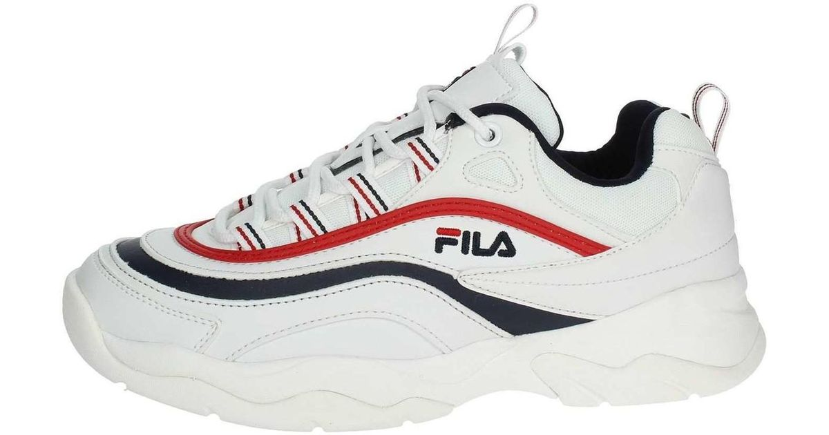 Fila Ray Low Wmn Navy Red 1010562150, Turnschuhe