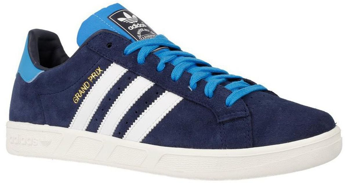 check out 9c3b8 cd68d adidas Grand Prix Mens Shoes (trainers) In Multicolour in Blue for Men -  Lyst