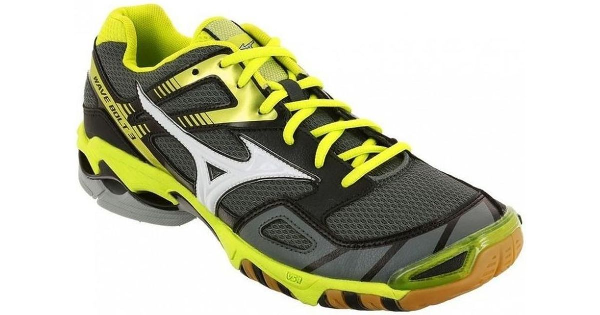 best sneakers 6424f f6816 Mizuno Metallic Wave Bolt 3 Men's Shoes (trainers) In Gold for men