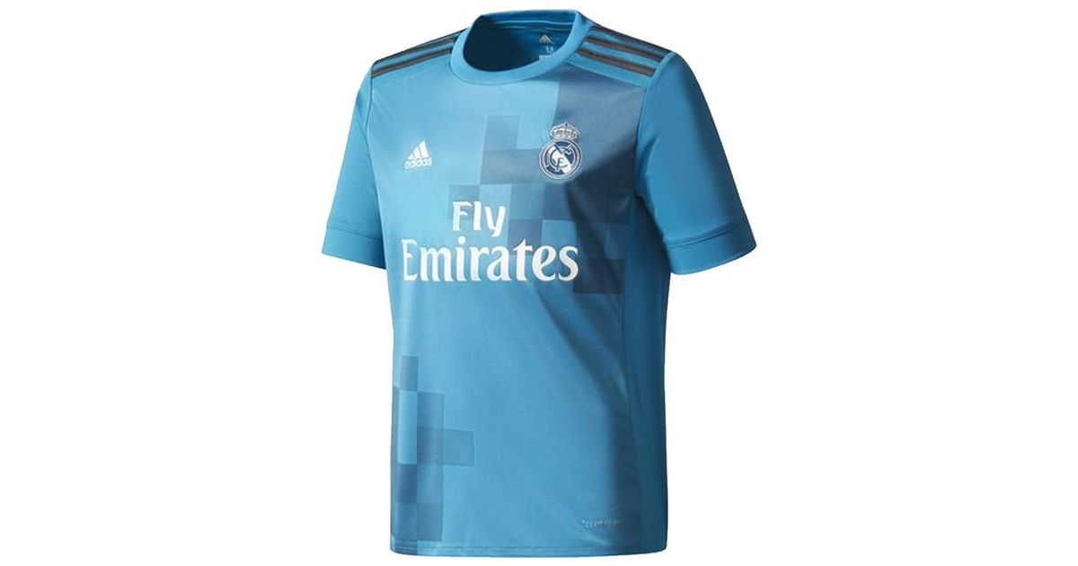 competitive price 51139 421db Adidas Blue 2017-18 Real Madrid Third Shirt (ronaldo 7) - Kids Men's T  Shirt In Other for men