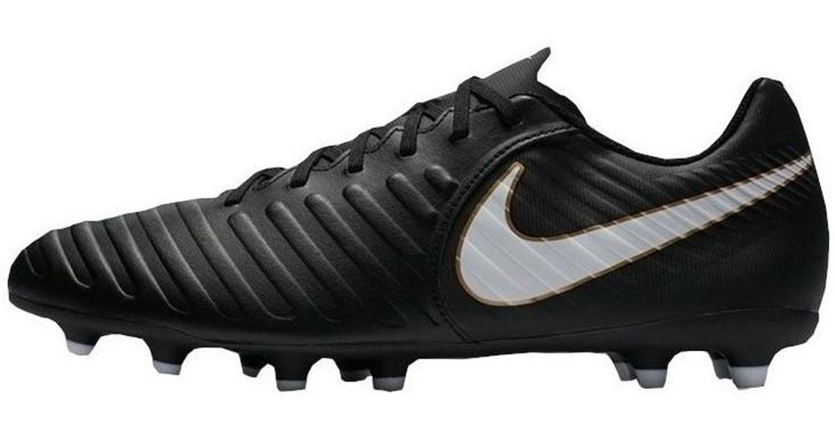 57bef8fd2d2d Nike Tiempo Rio Iv Fg Men's Football Boots In Black in Black for Men - Lyst