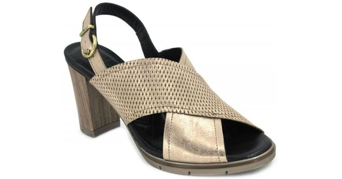 Women's Gold Tabarca In Hispanitas Sandals Metallic Hv74844 Lyst xdtshQrCBo