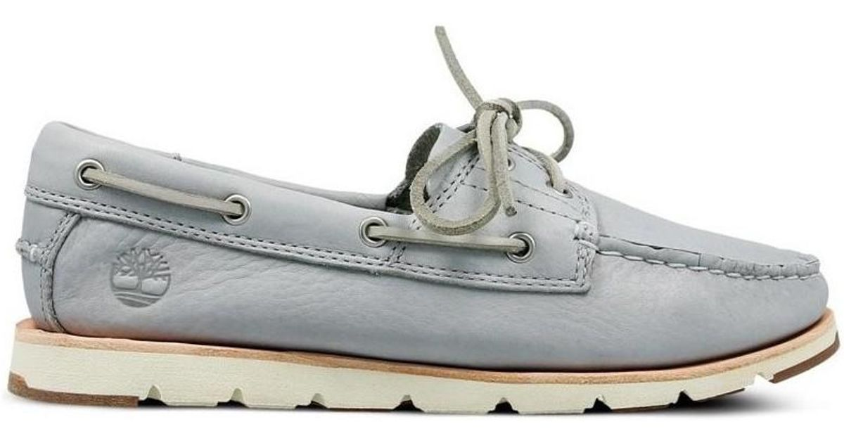 d1fc36bb194817 Timberland Camden Falls Fg Boat Women's Loafers / Casual Shoes In Blue in  Blue - Lyst