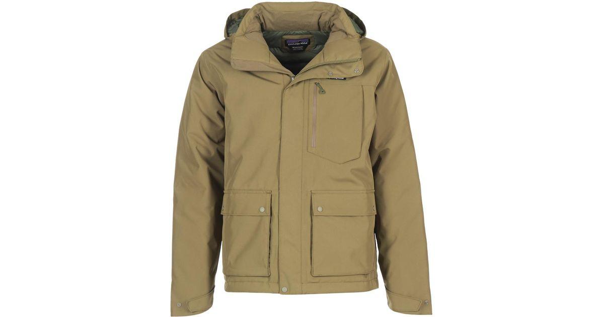 Lyst Patagonia Topley Jacket Men S Parka In Green In