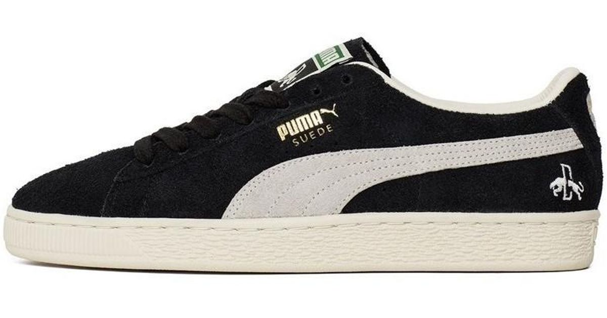 new product 3fba6 2ab35 PUMA Suede Classic Rudolf Dassler Men's Shoes (trainers) In Black for men