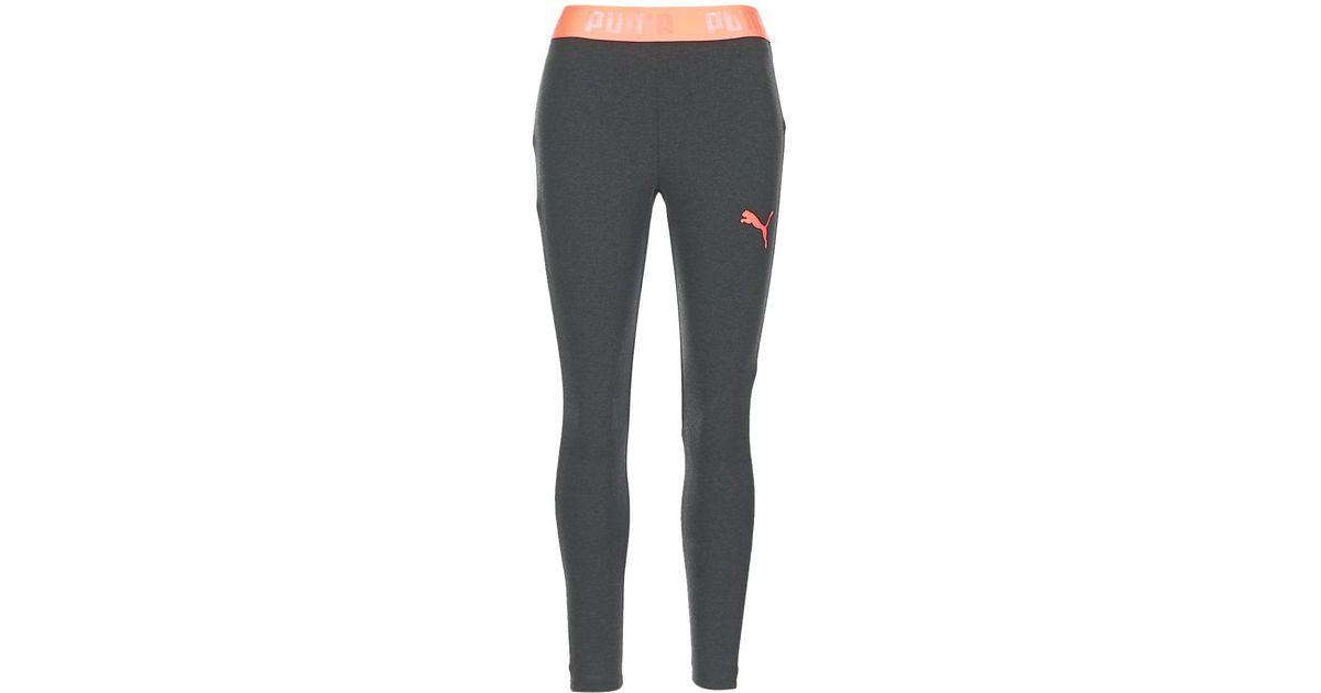 ba22e5e873 PUMA Gray Active Ess Banded Leggings W Women's Tights In Grey
