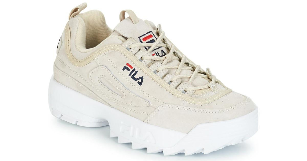 Fila Natural Disruptor S Low Wmn Women's Shoes (trainers) In Beige