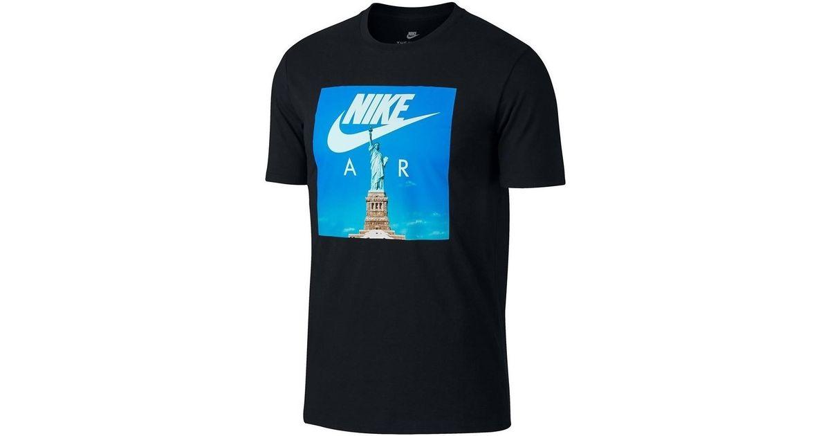 Nike Air Max Tee Blue BlackWhite , All Sizes Men's T Shirt eBay  eBay