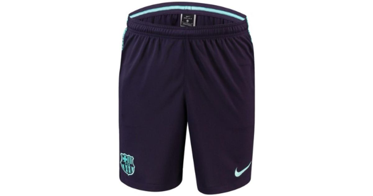 pretty nice 49975 599da Nike 2018-2019 Barcelona Squad Training Shorts Men's Shorts In Purple for  men