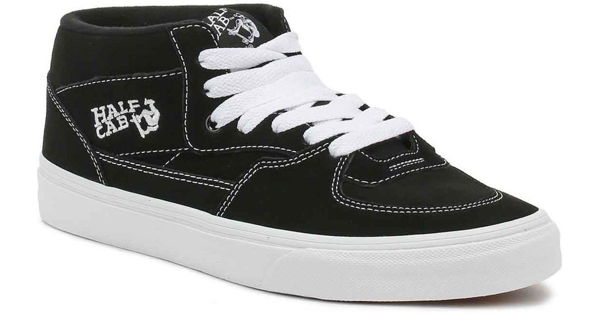 ef4a8e7077bb20 Vans Half Cab Black Trainers Women s Shoes (high-top Trainers) In  Multicolour in Black - Lyst