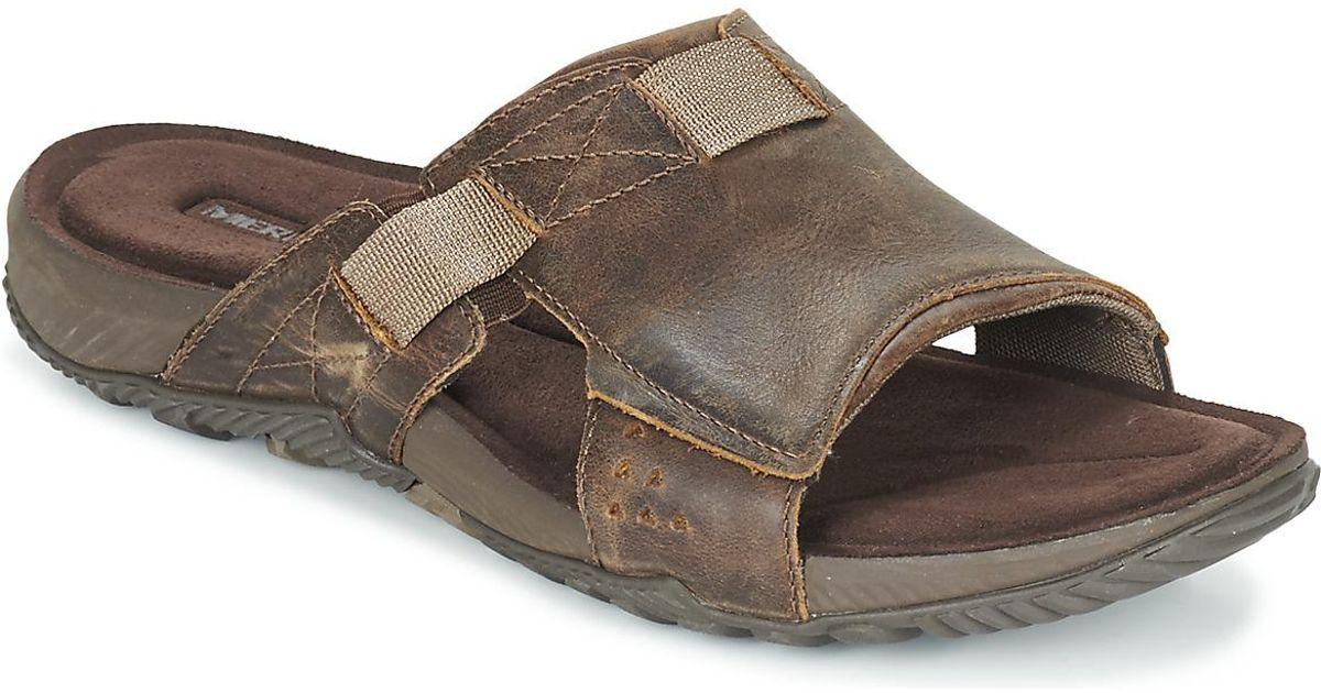 433b2c13b817 Merrell Terrant Slide Sandal in Brown for Men - Lyst