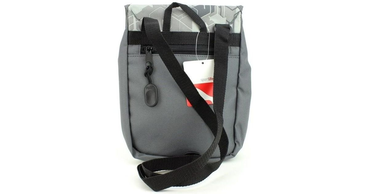 Puma Foundation Portable Women s Shoulder Bag In Grey in Gray for Men - Lyst 342226a97a482