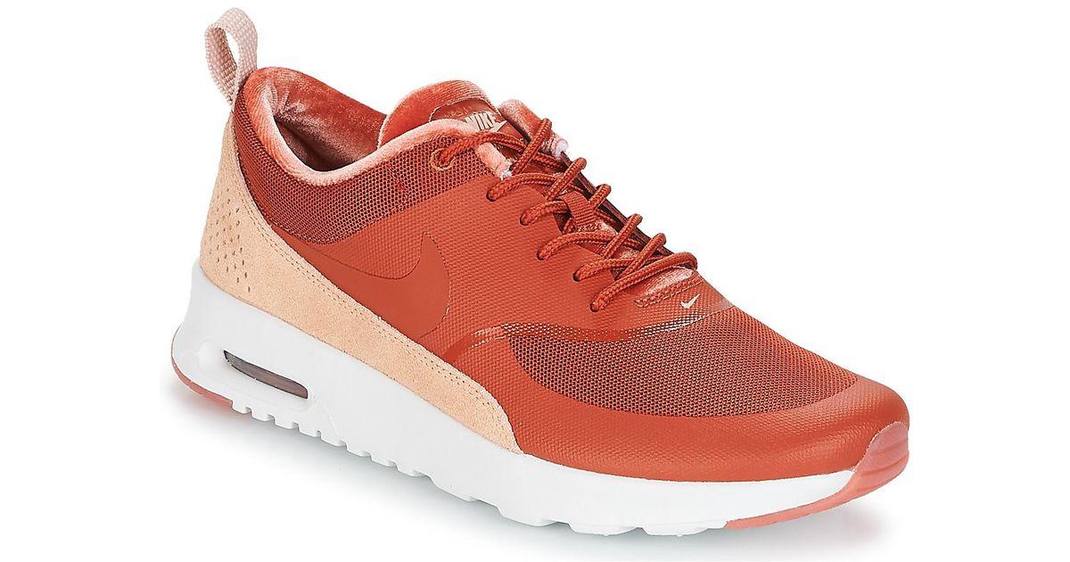 ea9cc4e0e9 Nike Air Max Thea Lx W Women's Shoes (trainers) In Orange in Orange - Lyst