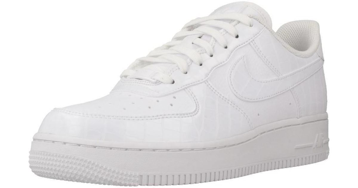 buy popular a14a7 ddc11 Nike Air Force 1 039 07 Ess Women s Shoes (trainers) In White in White -  Lyst