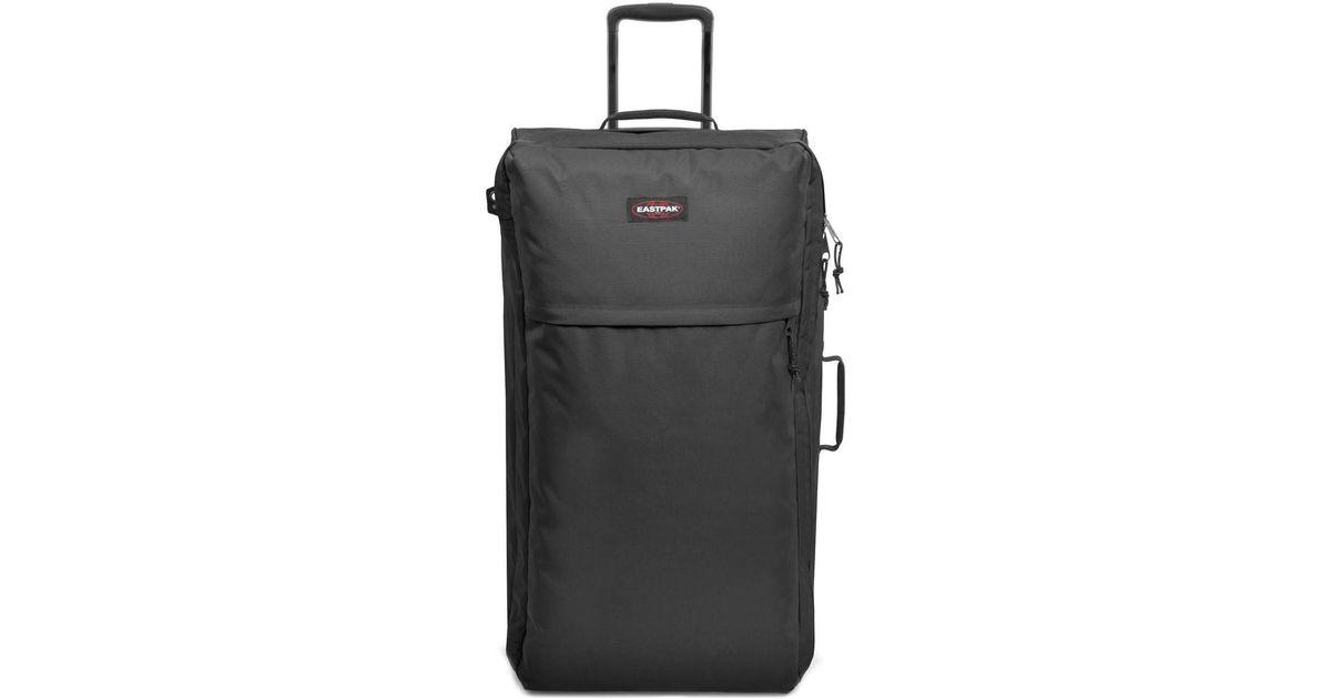 4a02dc246a Eastpak Ek37c Medium Trolley Luggage Black Men's Soft Suitcase In Black in  Black for Men - Lyst