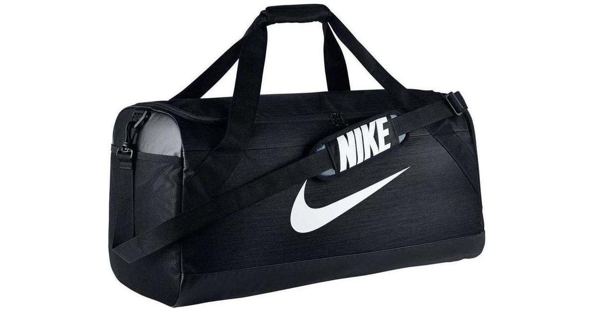 723b9b490d Nike Ba5334 Brasilia (medium) Training Duffel Bag Men s Sports Bag In Black  in Black for Men - Lyst